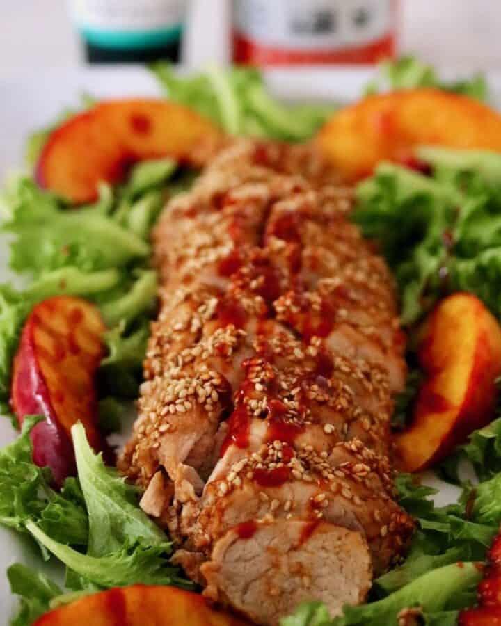 Gochujang Glazed Sesame Pork