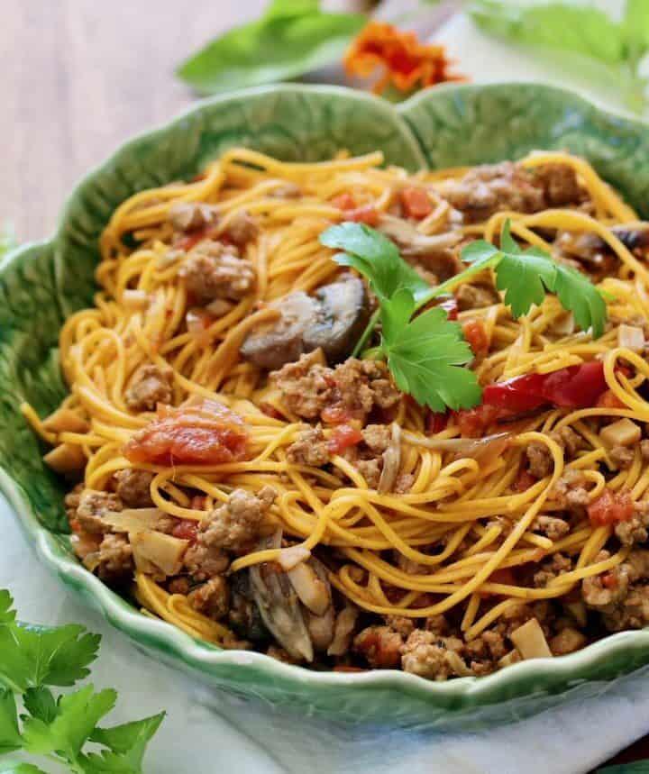 pumpkin spice pasta